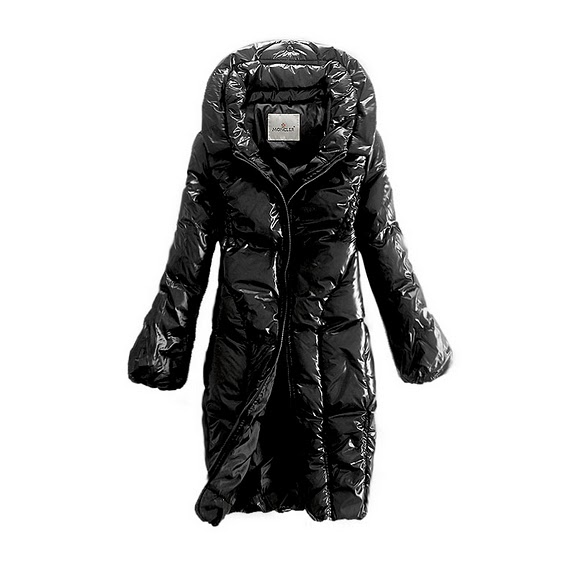 NEW! Moncler women long black style coats