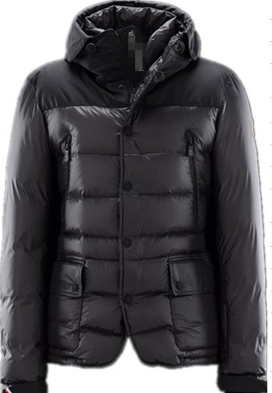 Moncler Men's Black Chest Jacket