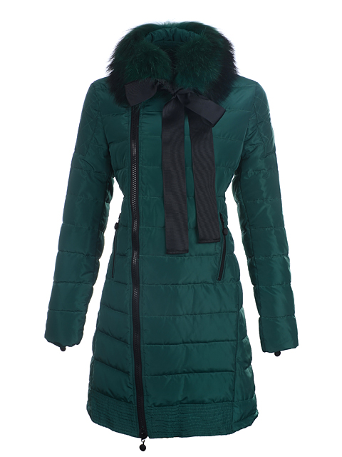 Coats Moncler Mayuko women fur collar worm
