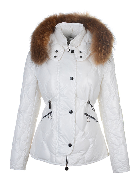 Moncler Women's Jacket Lontre White