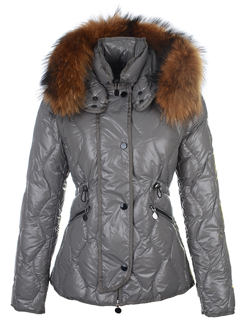 Moncler Jacket For Women Lontre Gray