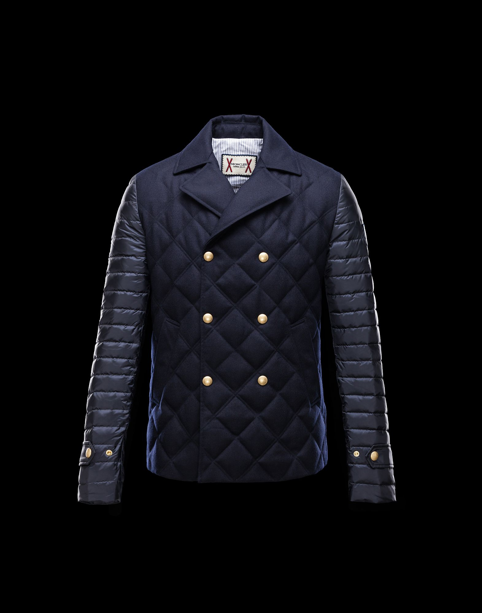 Jacket MONCLER Jackets Men jackets RANGE Blue