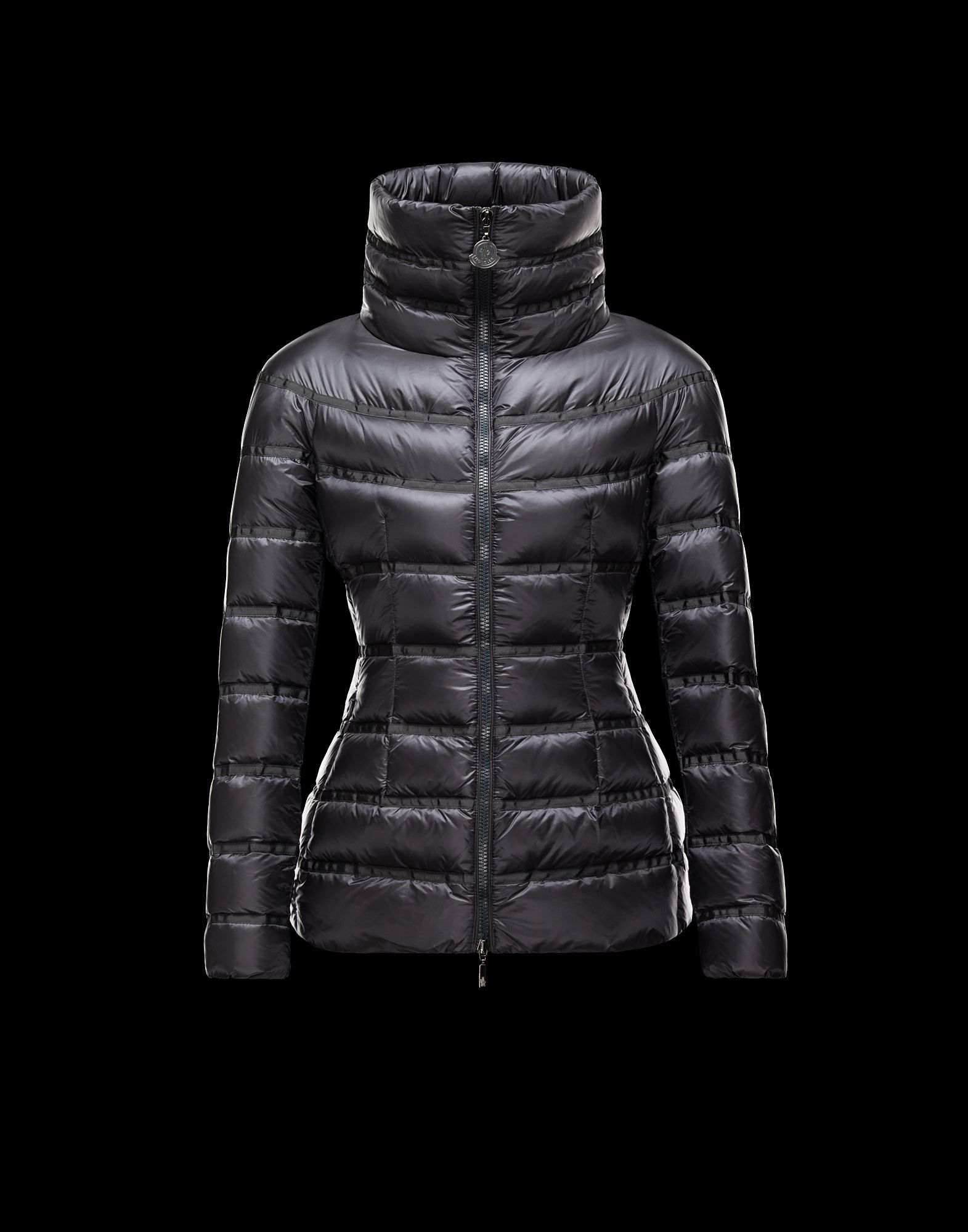 Moncler Down Jackets GAUDIN Short Jackets Women Gray