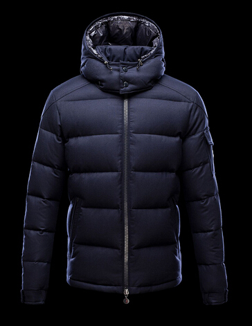Moncler Montgenevre Short Jackets Men Blue