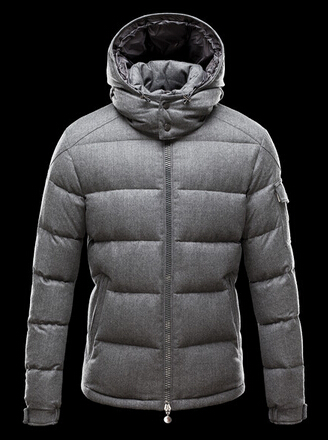 Moncler Down Jackets Montgenevre Short Jackets Men Gray