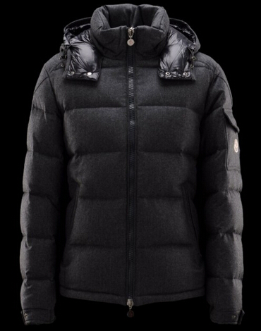 Moncler Down Jackets Montgenevre Short Jackets Men Black