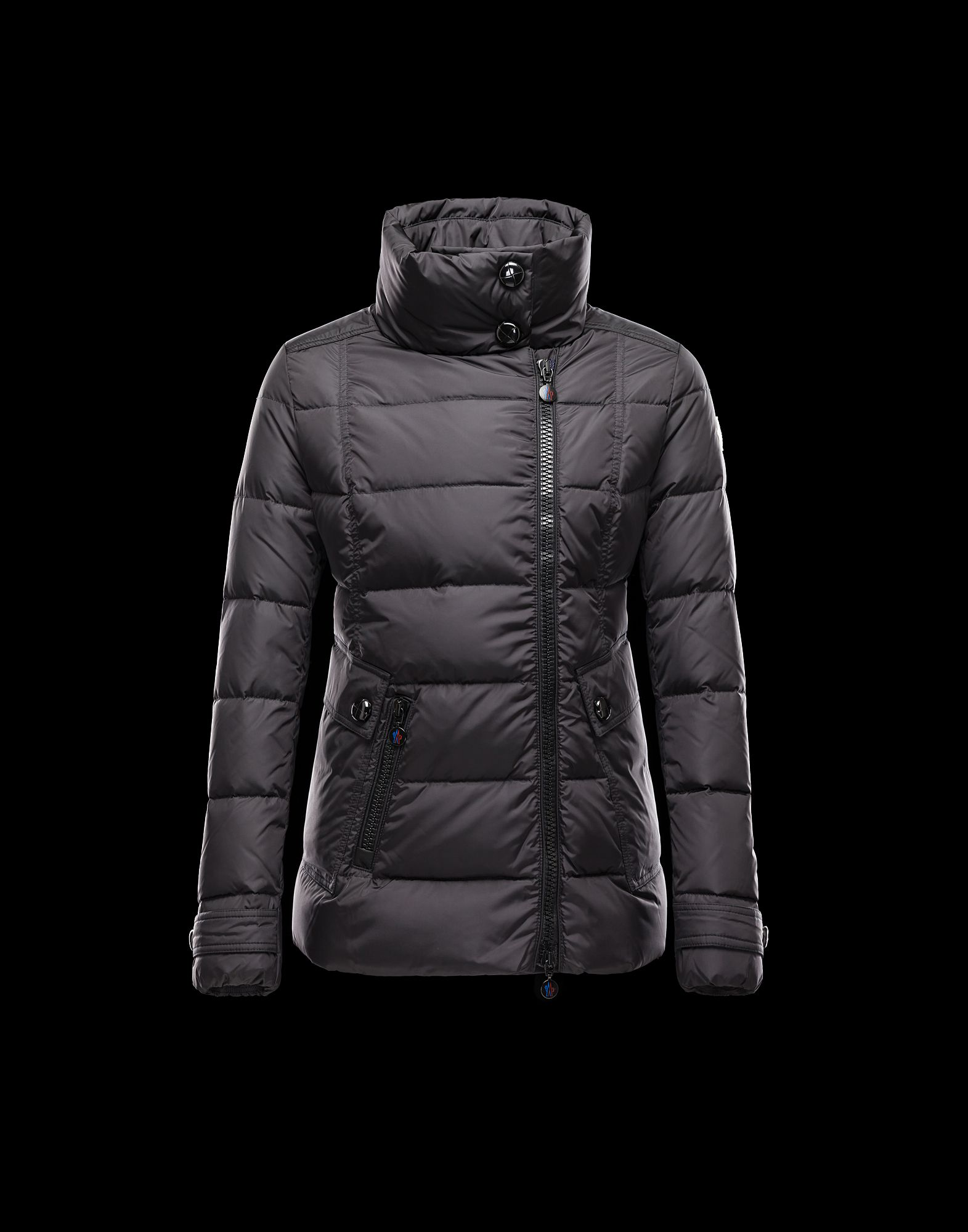 Women Moncler Down Jackets RENOUEE Short Jackets Black