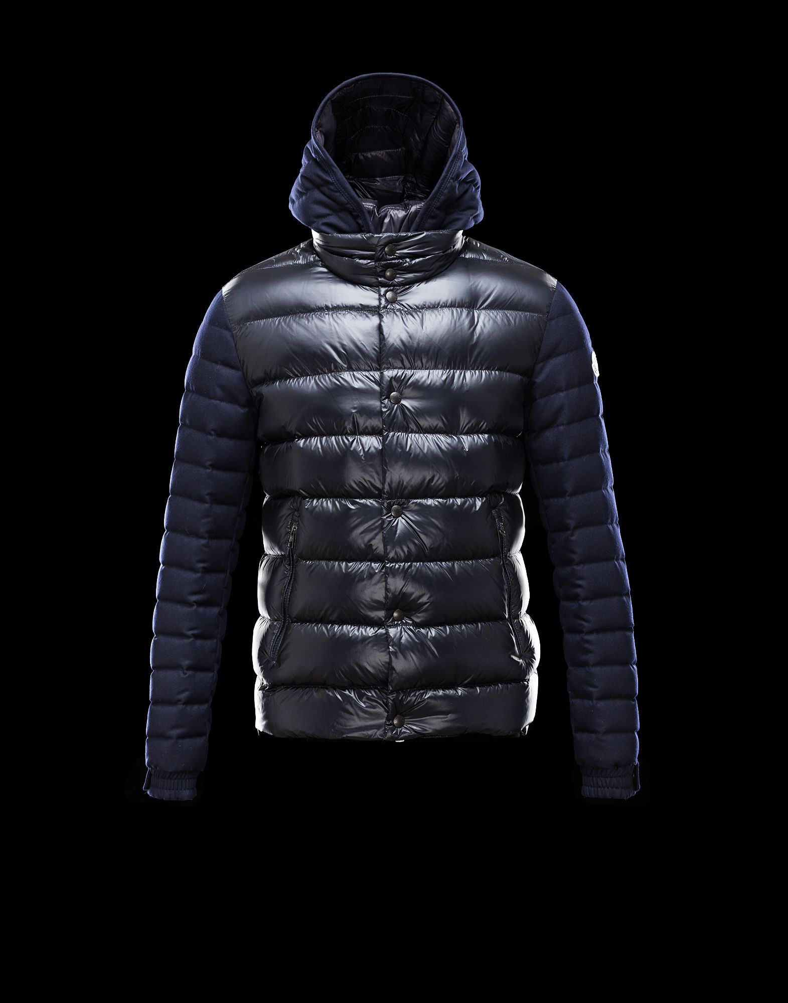 Moncler RIOM Down Jacket Bright Hooded Man