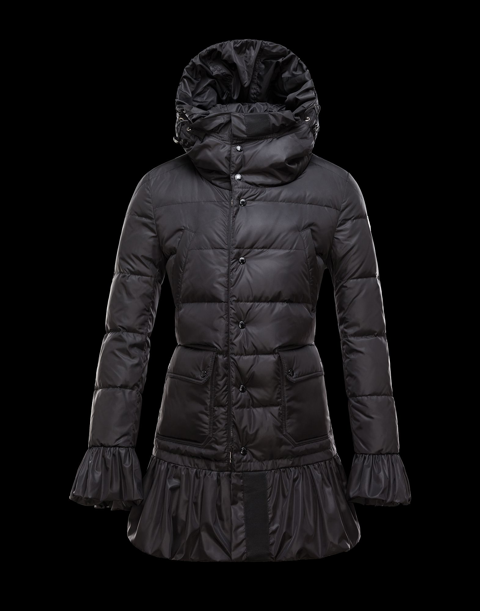 Moncler SERRE Women's Coat Down Coat Black