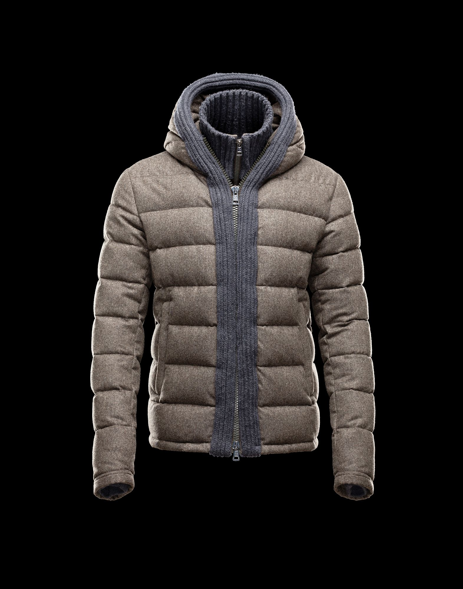 Moncler CANUT Design Mens Down Jacket Army Green