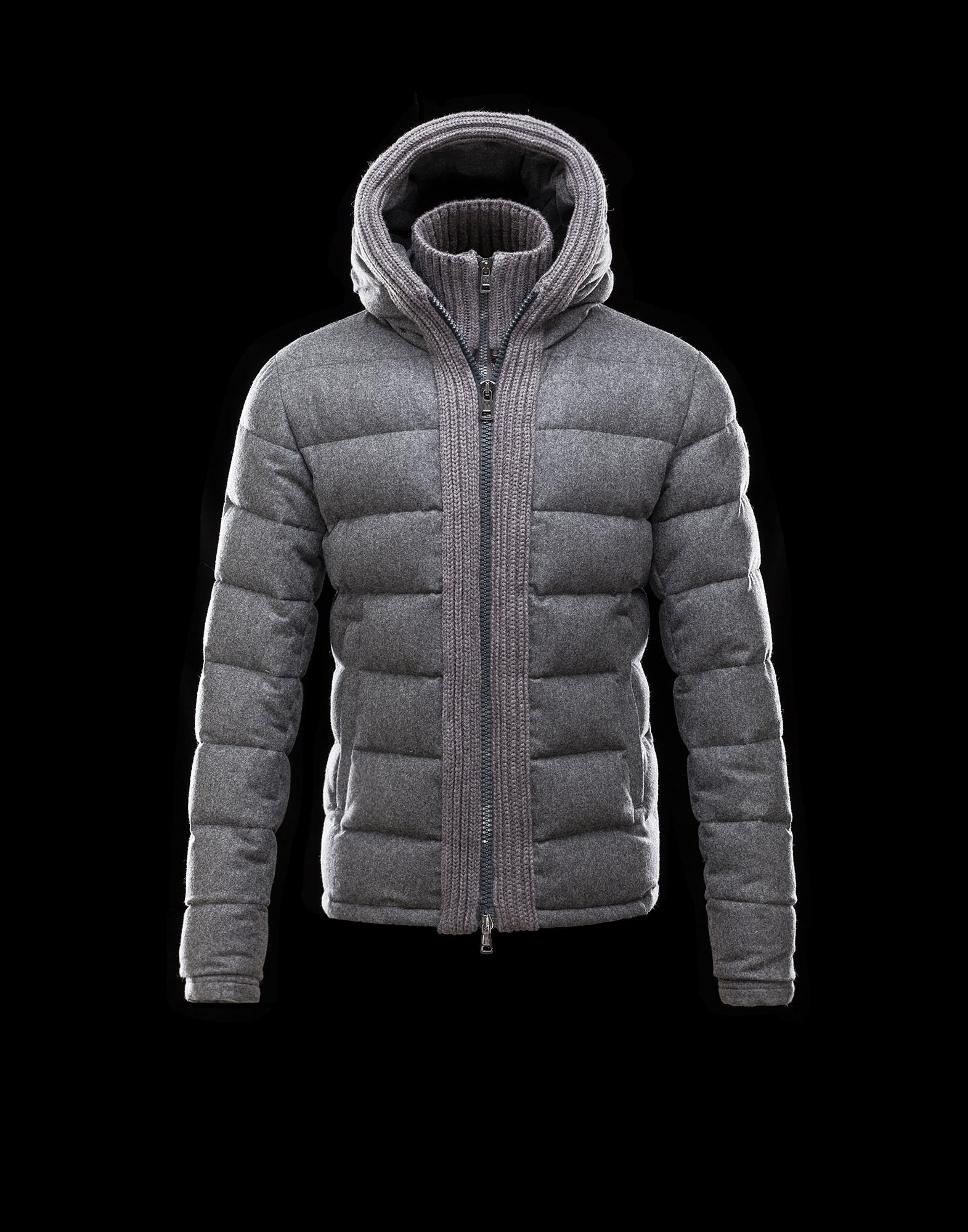Moncler CANUT Design Mens Down Jacket Army Grey