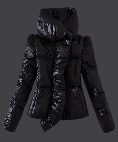 Moncler Euramerican Style Down Jackets Womens Black