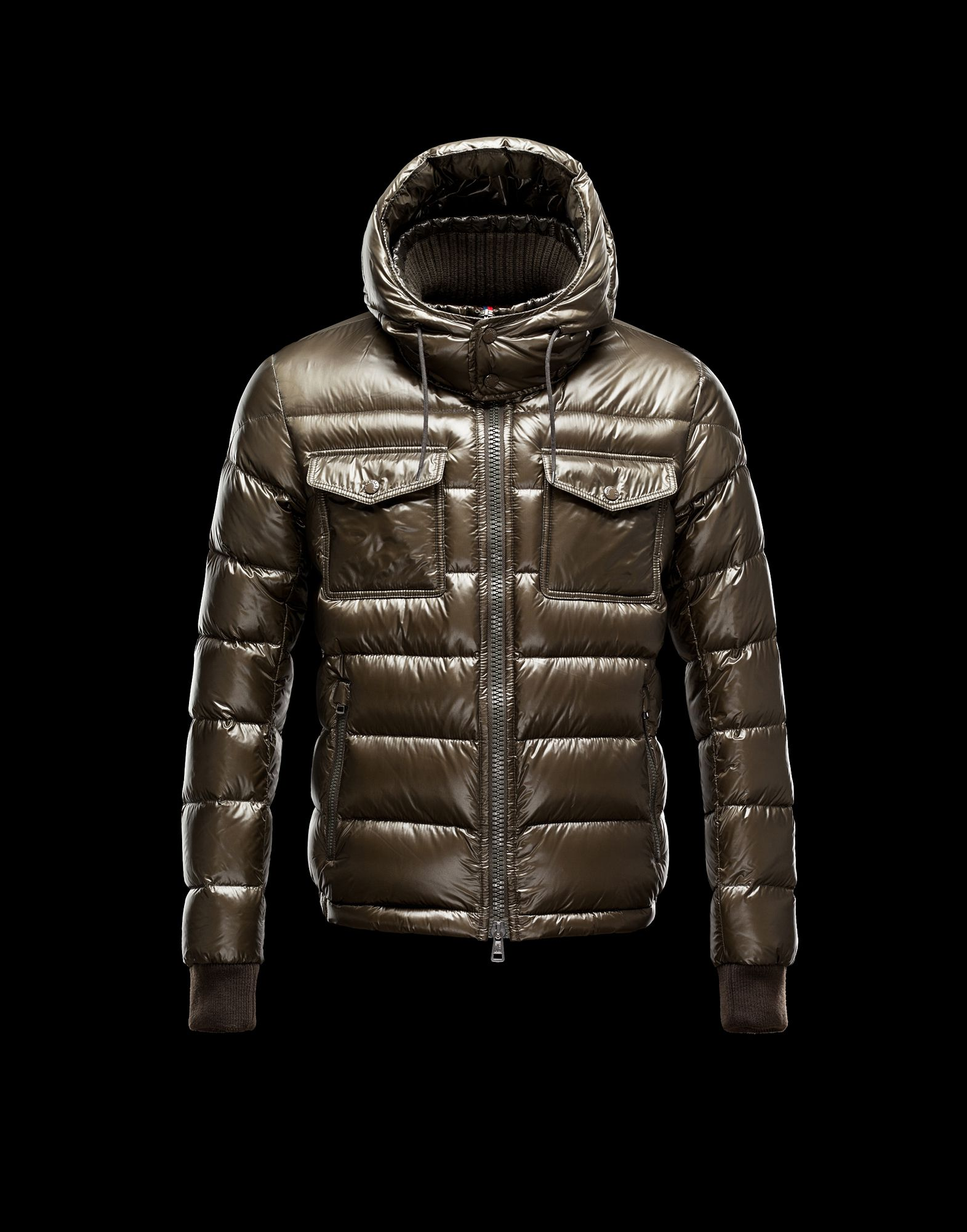 Moncler FEDOR Featured Down Jackets Mens Army Green
