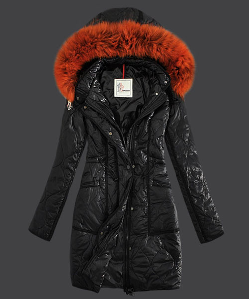 Moncler Fashion Womens Down Coats Windproof Black