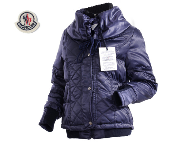 Moncler Featured Jacket Down For Womens Deep Blue