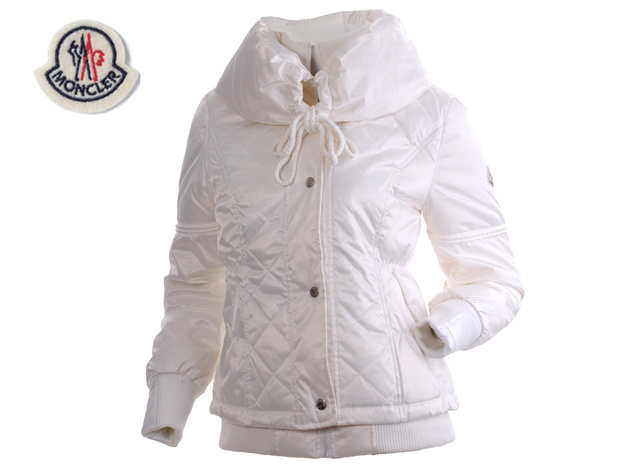 Moncler Featured Jacket Down For Womens White