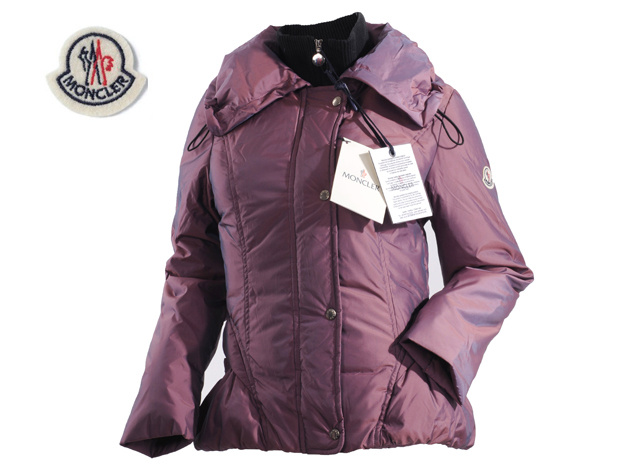 Moncler Jackets Womens Long Sleeve With Purple