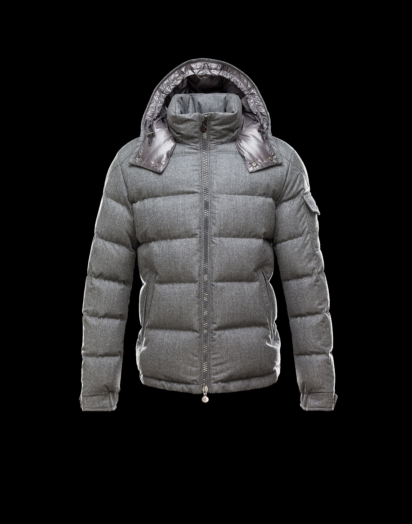 Moncler Montgenevre Winter Jackets For Men Gray