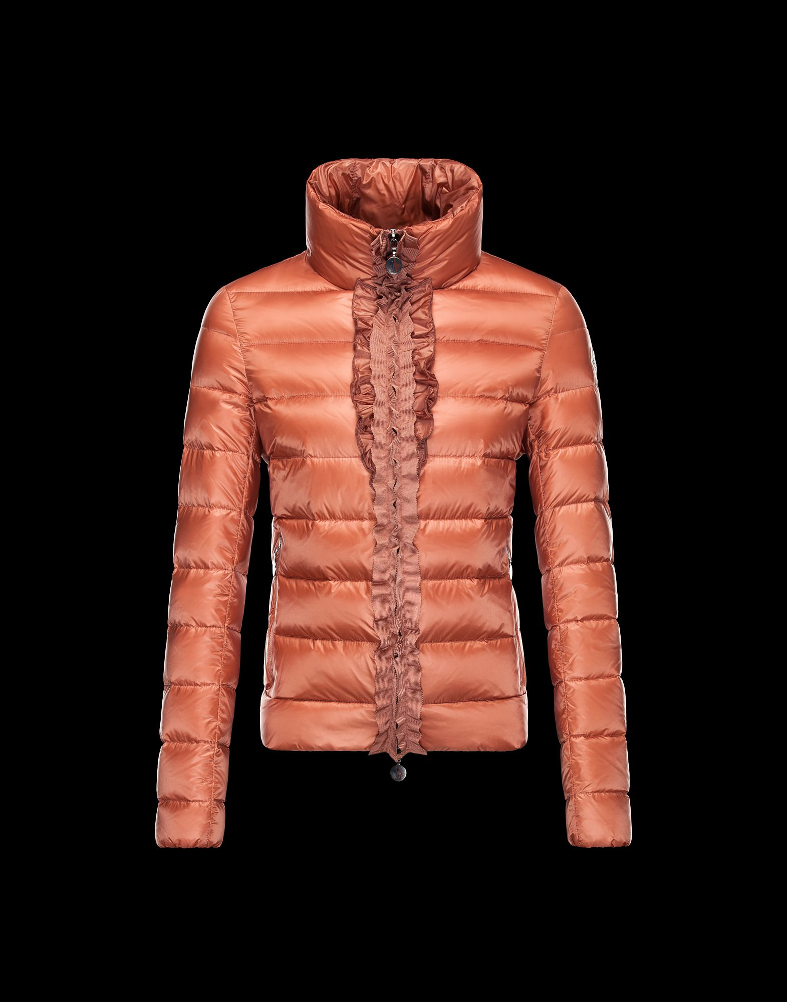 Moncler OXALIS Down Jackets Womens Collar Bare