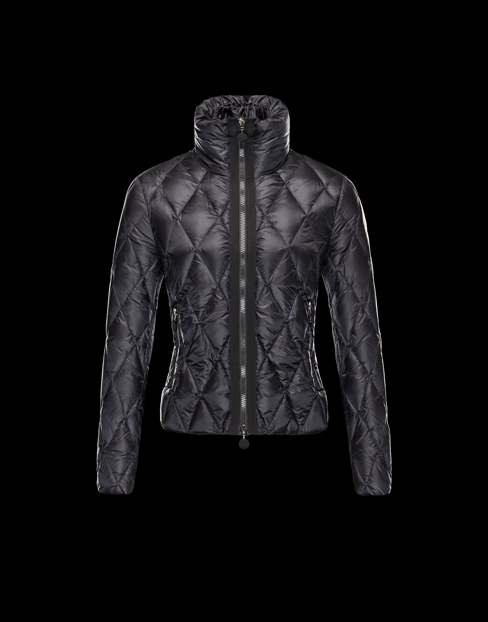 Moncler Sanglante Eider Down Jacket Women Black