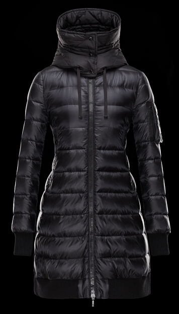 Moncler CHAMBLY Womens Coat Sale Black