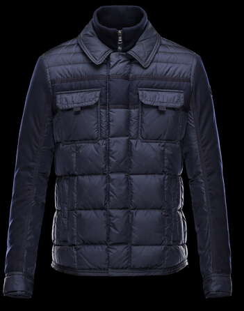 Moncler Doudoune BLAIS Coat Men Winter Blue
