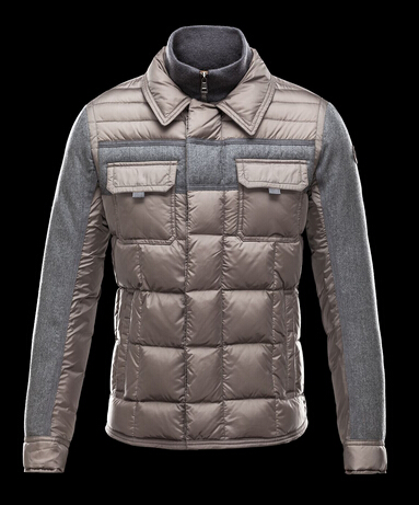 Moncler Doudoune BLAIS Coat Men Winter Gray