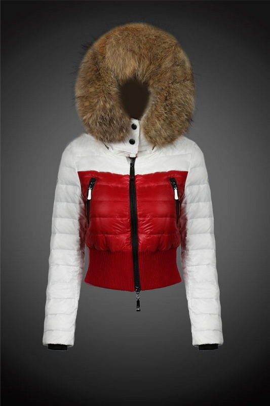 2016 Moncler Down Coats For Women With Fur Cap mc1029