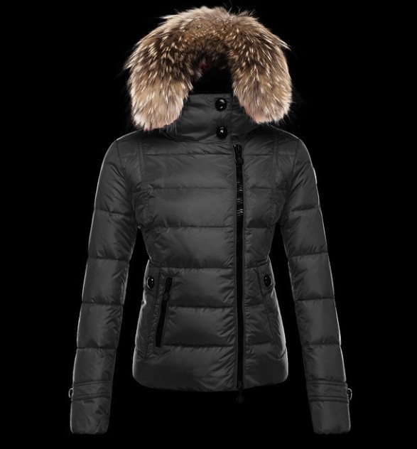 2016 Moncler Down Coats For Women With Fur Cap mc1071