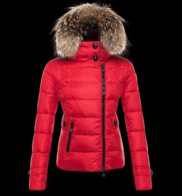 2016 Moncler Down Coats For Women With Fur Cap mc1072