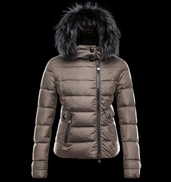 2016 Moncler Down Coats For Women With Fur Cap mc1073