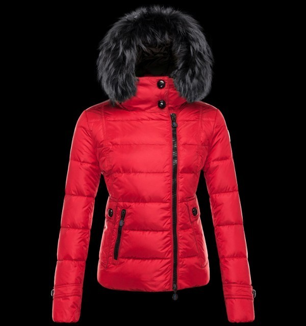 2016 Moncler Down Coats For Women With Fur Cap mc1074