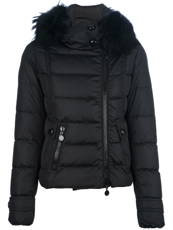 2016 Moncler Down Coats For Women With Fur Cap mc1075