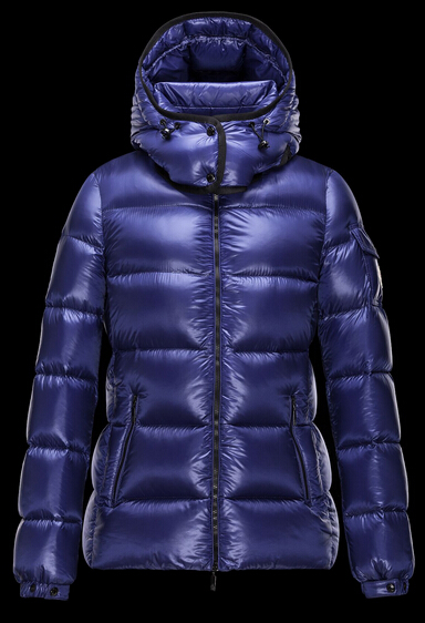 Moncler Women BERRE Hooded Jacket Blue