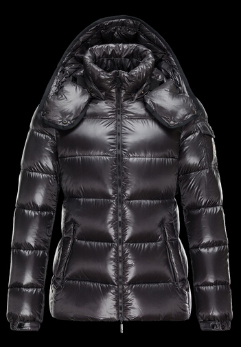 Moncler Women BERRE Hooded Jacket Gray