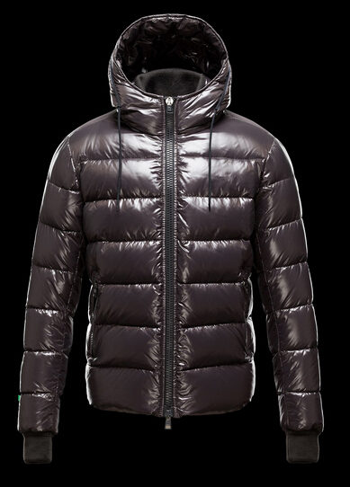 Buy Moncler Men's Aubert Hooded Winter Jacket Brown