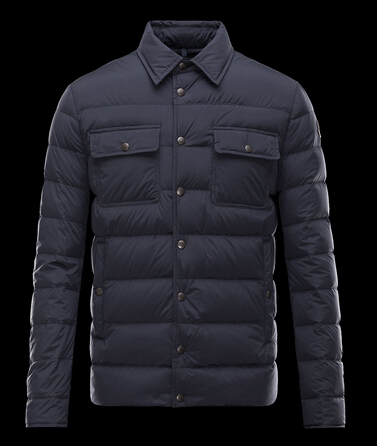 Moncler Jacket LUBERON Men's Blue Jacket