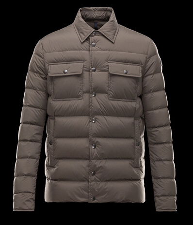 Moncler Jacket LUBERON Men's Brown Jacket