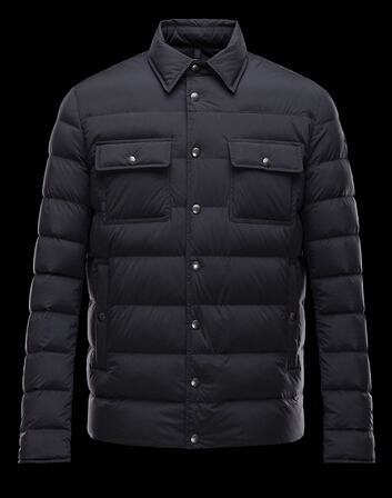 Moncler Jacket LUBERON Men's Jacket Black