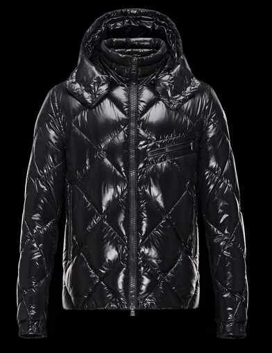 Moncler Jackets NEWMAN Men Jackets Sale Hooded Black
