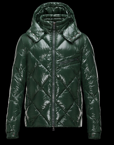 Moncler Jackets NEWMAN Men Jackets Sale Hooded Green