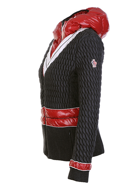 Moncler Women Jackets Black Belt