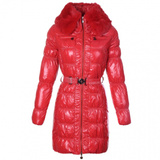 Moncler Aliso Women Coat Red For Sale