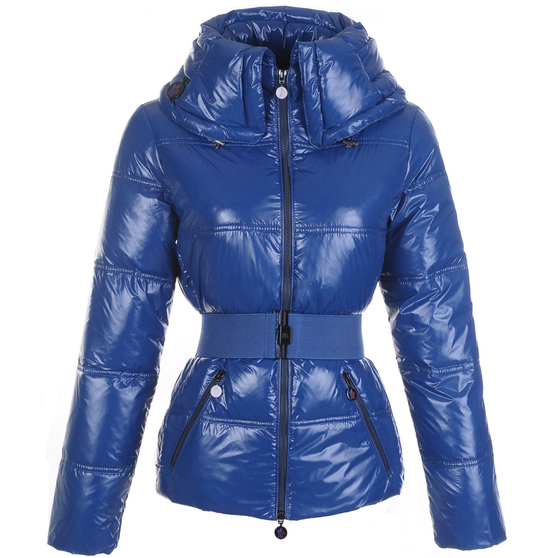 Moncler Aliso Women Jacket Blue For Sale