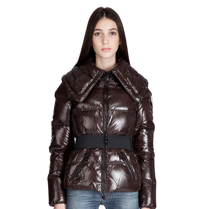 Moncler Aliso Women Jacket Coffee For Sale
