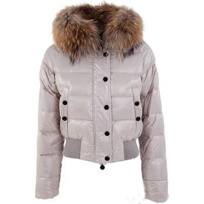 Moncler Alpin Women Jacket Beige For Sale