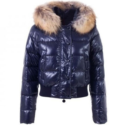 Moncler Alpin Women Jacket Blue For Sale