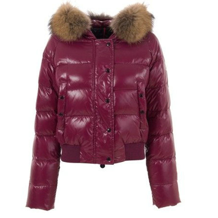Moncler Alpin Women Jacket Date Red For Sale