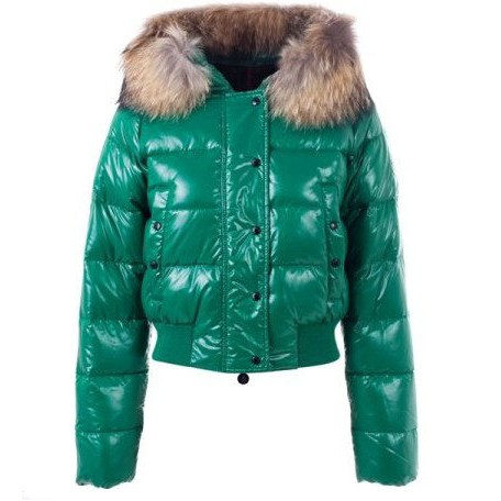 Moncler Alpin Women Jacket Green For Sale
