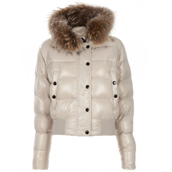 Moncler Alpin Women Jacket Khaki For Sale